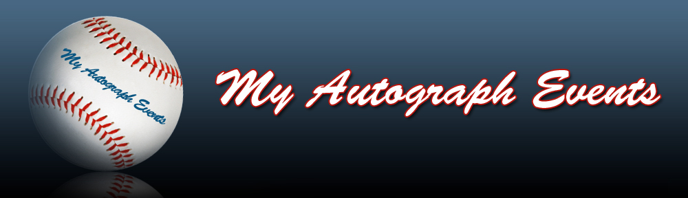 My Autograph Events